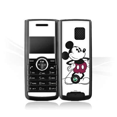 DeinDesign Folie kompatibel mit Sony Ericsson J120i Aufkleber Skin aus Vinyl-Folie Micky Maus Mickey Mouse Retro Geschenke Merchandise