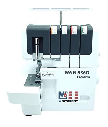 W6 Nähmaschine Overlock N 656D Freiarm