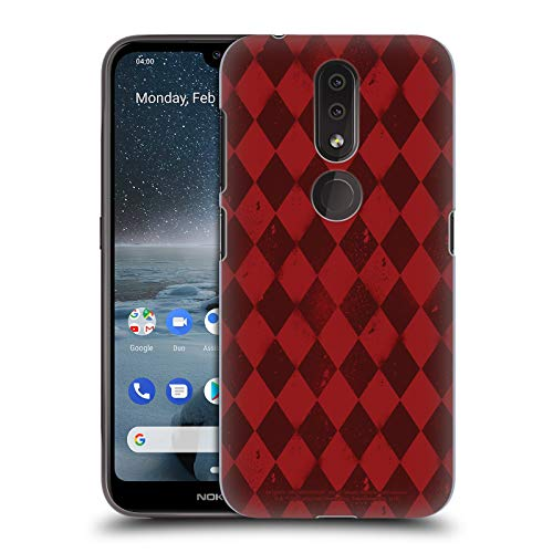 Official Batman: Arkham Knight Harley Quinn Pattern Graphics Hard Back Case Compatible for Nokia 4.2