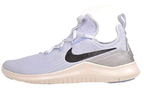 Nike Women's Free TR 8 Training Shoes (6, Blue/Black/Silver)