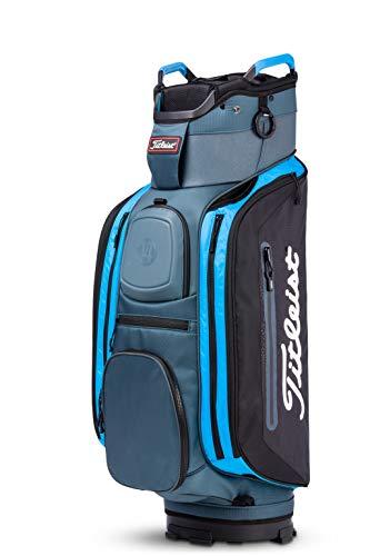 Titleist Club 14 Golf Bag Charcoal / Black / Process Blue