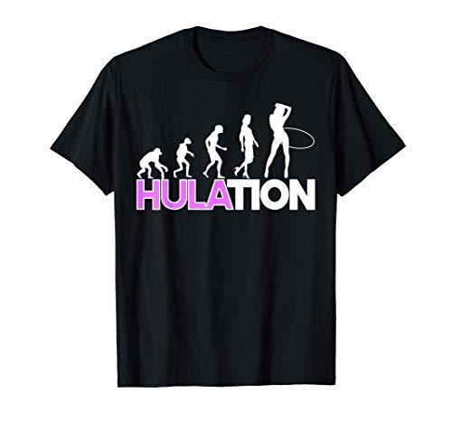 Damen Hulation Hula Hoop Outfit Fitness Hullern Geschenk T-Shirt