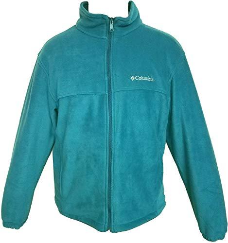 Columbia Mens Steens Mountain Full Zip 2.0 Soft Fleece Jacket (Ocean Blue, Small)