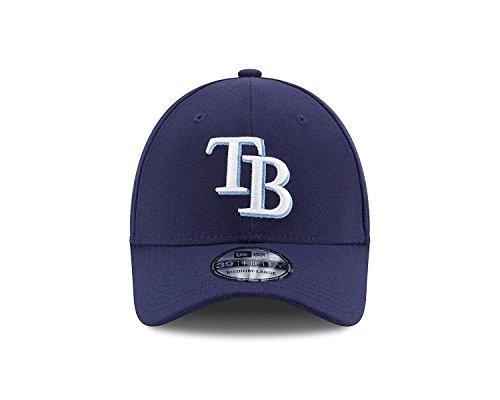 MLB Tampa Bay Rays Team Classic Game 39Thirty Stretch Fit Cap, Blue, Medium/Large