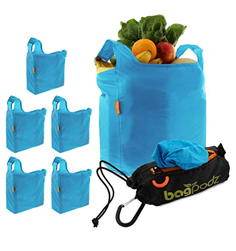Our #1 Pick is the BagPodz Reusable Shopping Grocery Bags