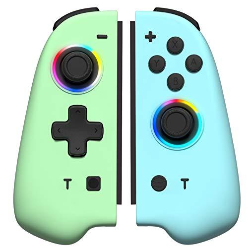 Joycon Controller Ersatz für Switch Joycon (grün und blau)