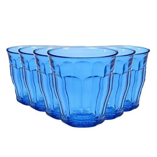 Duralex Picardie - Juego de Vasos Bajos de Colores -