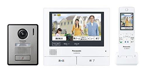 パナソニック(Panasonic) ワイヤレスモニター付テレビドアホン 電源コード式 VL-SWH705KL
