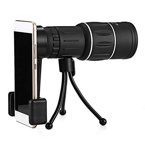 Monokulares Teleskop Dual Focus 16X52 Optisches Zoomobjektiv Fernglas Optisches Zielfernrohr Für Die Objektivjagd Outdoor-Zubehör (Color : B)