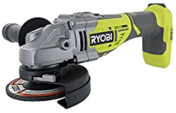 powerful Ryobi P423 18V One + 4-1 / 2 10,400 rpm brushless grinder  metal cutter, with 3 position adjustment…