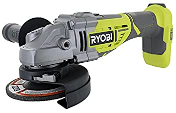 Ryobi P423 18V One+ Brushless 4-1/2  10,400 RPM Grinder and Metal Cutter w/ Adjustable 3-Position Side Handle and Onboard Spanner Wrench  Battery Not Included Power Tool Only