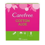 Carefree Salvaslip Cotton Aloe 56 unidades 150 g - Pack de 5