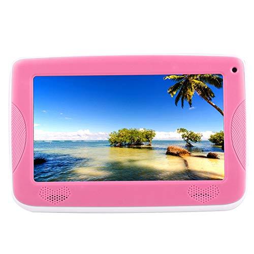 Unbekannt HD-Display Kinder Ausgabe Tablette Liuwenjin Astar Kinder Bildung Tablet, 7,0 Zoll, 512 MB + 4GB, Android 4.4 Allwinner A33 Quad Core, mit Silikonhülle (orange) (Farbe : Rosa)