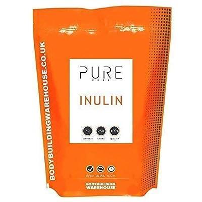Bodybuilding Warehouse Pure Inulin Powder (Fructo-Oligosaccharide) (250g)