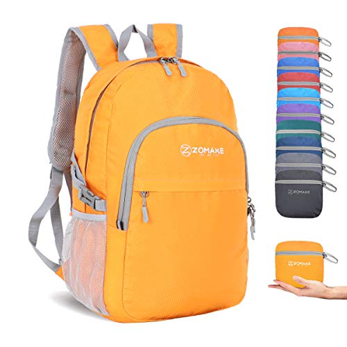 ZOMAKE Packable Backpack Bag Small Lightweight Water Resistant Camping Travel Hiking Daypack