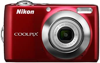Nikon COOLPIX L24 14 MP Digital Camera with 3.6x NIKKOR Optical Zoom Lens and 3-Inch LCD (Red)