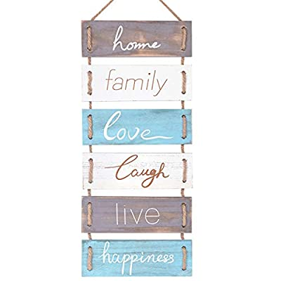SOYO Rustic Wooden Wall Sign Hanging Wall Signs...