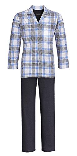 Ringella Herren Pyjama silber50 5441218