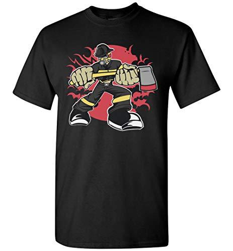 PINK BUTTERFLY Fireman Firefighter - Camiseta
