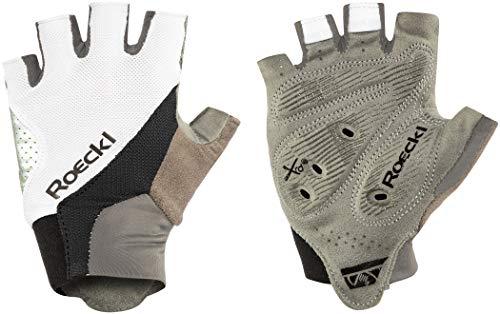 Roeckl Herren Ivory Handschuhe, weiß/Schwarz, 8