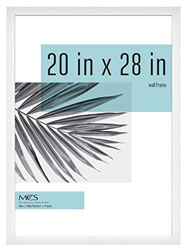 MCS Industries Studio Gallery Frames, 20x28 in, White Woodgrain