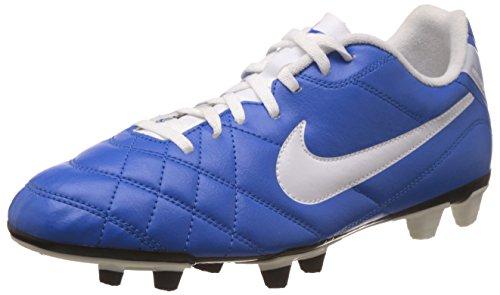 Nike - Botas de fútbol de según descripción para Hombre Bleu/Blanc