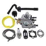 Hippotech Zama C1Q-S258 Carburateur pour Tronçonneuse Stihl MS192 MS192T MS192TC