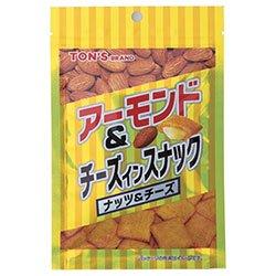 東洋ナッツ食品 トン アーモンド&チーズインスナック 40g×12袋入