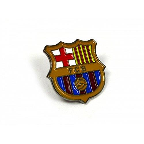 FC Barcelona offizieller Fußball-Anstecker mit Teamwappen (Einheitsgröße) (Mehrfarbig)
