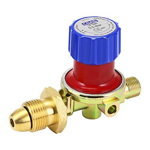 Kit de quemador de gas propano y butano multipropósito para soplete de gas y cañones de 2 m y 5 m de manguera (regulador de gas)