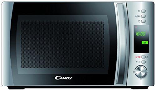 Candy CMWC 20 DS - Microondas, 20 l, 700 W, display digital, color plateado