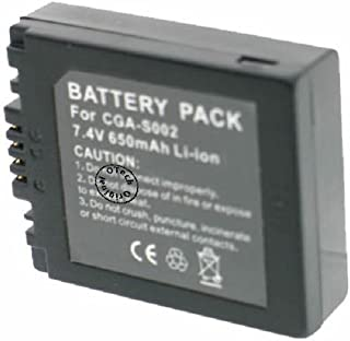 Otech Battery for PANASONIC LUMIX DMC- FZ50S