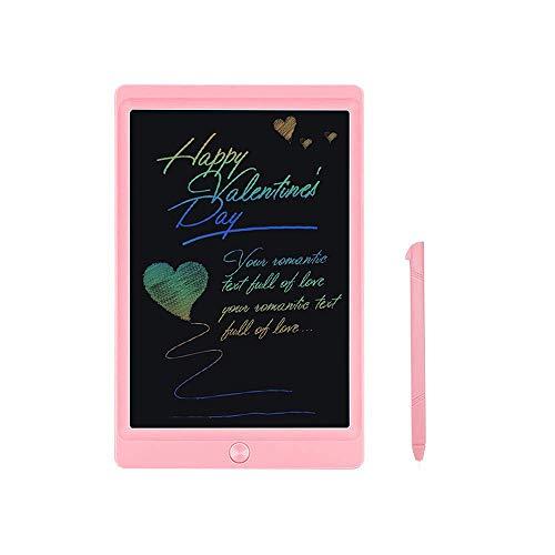 JOEAIS Tableta de Escritura LCD Color 8,5 Pulgadas Doodle Tabler de Escritura electrónica Tablero de Dibujo Digital Tableta de Dibujo gráfico Adecuado para niños, hogar, Escuela, Oficina (Rosado)