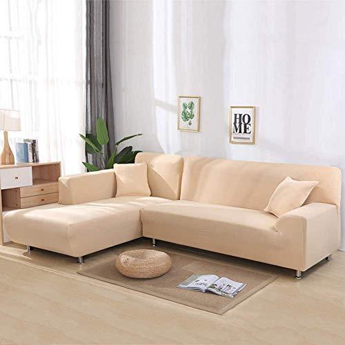 Elastyczne pokrowce na sofy w kształcie litery L, elastyczne narożne narzuty na sofę do salonu, 1/2/3/4 siedzenia Pokrowiec na kanapę, zmywalny ochraniacz na meble