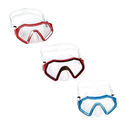 Bestway Hydro-Swim Sparkling Sea Kinder-Tauchmaske, Mehrfarbig, ab 7 Jahren