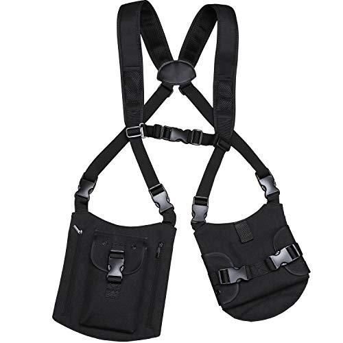 KEESIN Anti-Theft Umhängetasche Brieftasche Versteckter Achselholster Gürtel Sicherheitstasche Rucksack