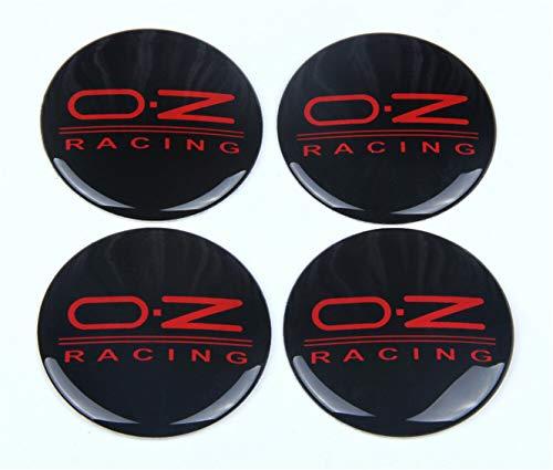 4Pcs 65mm Wheels Center Hub Cap Emblem Badge Alloy Decal Sticker for OZ Racing