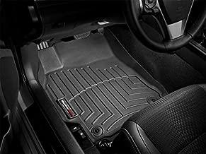 WeatherTech Custom Fit Front FloorLiner for Mercedes-Benz E63/E350/E550 (Black)