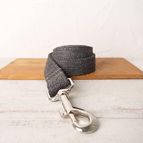 Exquisito Collar para Perros con Correa Ajustable para Cachorros, 5 tamaños, Correa para Perros, M