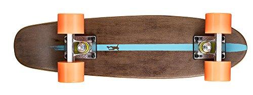 Ridge Skateboards Maple Mini Cruiser- NR2 Skateboard, Arancione