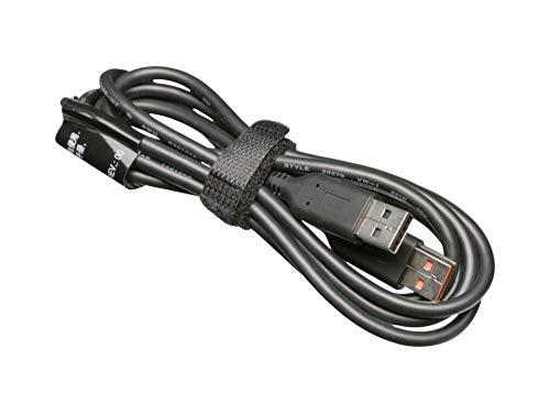 Lenovo Cable de Datos-/Carga USB Negro Original 1,00m para la série Yoga 700-11ISK (80QE)