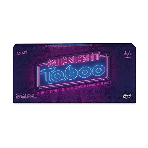 Hasbro - Gioco Taboo Midnight, Versione Inglese