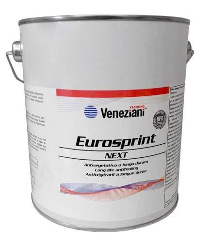 Veneziani Eurosprint Next antivegetativa a matrice dura per barche veloci 5 litri (5 litri, nero)