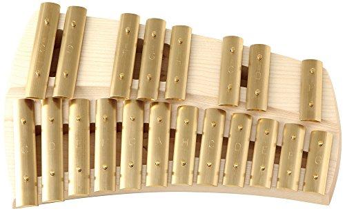 アウリス AURIS 楽器 鉄琴 真鍮  グロッケン クロマティック 20音