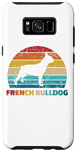Galaxy S8+ Retro French Bulldog Case