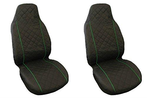 Volkswagen Sitzbezüge Schonbezüge Bezüge VW Golf Passat 2 3 4 5 Sharan Bora Polo Caddy Schwarz BLAU Keder
