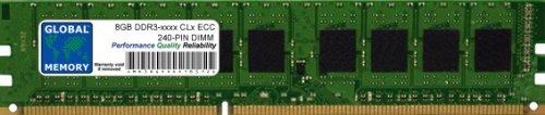 8GB DDR3 800/1066/1333/1600/1866MHz 240-PIN ECC DIMM (UDIMM) Memoria RAM para SERVIDORES/Estaciones DE...