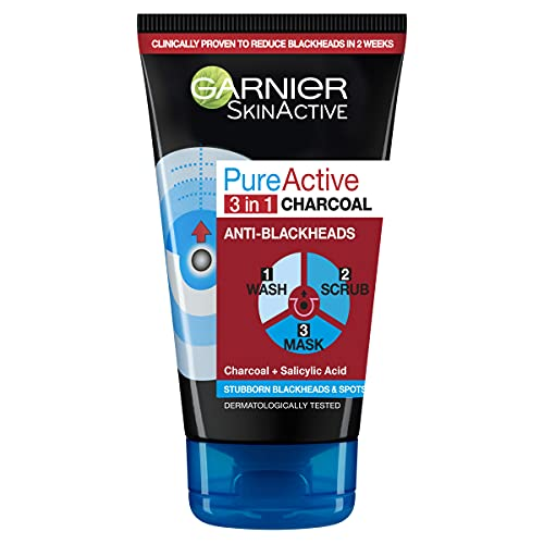 Pure Active Intensive Charcoal Anti-Blackhead 3in1 150ml