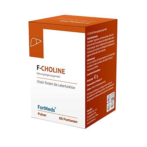 Formeds F-CHOLINE Cholin Pulver - 245 mg, 60 Portionen