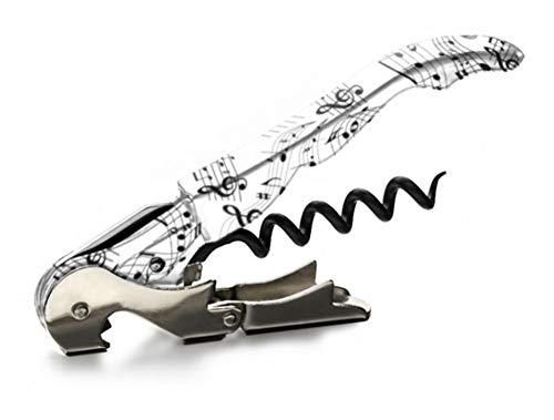 Sacacorchos - Pulltap's Genuine - Classic 500 - Colección Musical - Musical - Sacacorchos profesional- doble palanca - camarero - sommelier - original - fabricado en España, Música